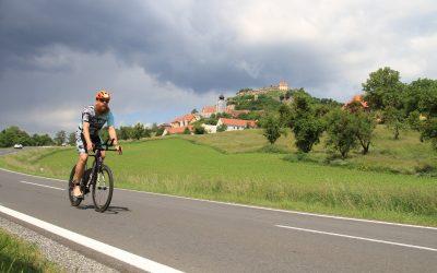 Horst's Saisonstart beim Vulkanland Tri in der Steiermark