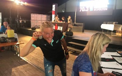 Ivett rockt Ironman 70.3 St. Pölten