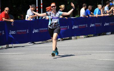 Jacky beim Frauenlauf
