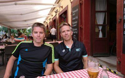Jürgen und Franz Vorbereitung für Saisonhöhepunkt in Keszthely