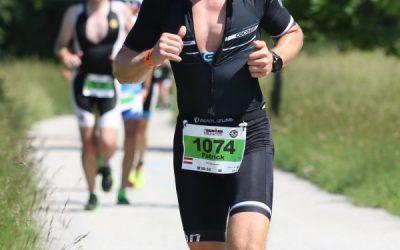 Patrick beim Ironman 70.3 St. Pölten