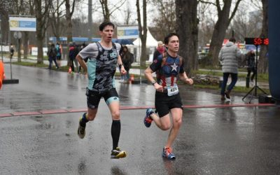 Ingmar jagd den Marathon Vereinsrekord