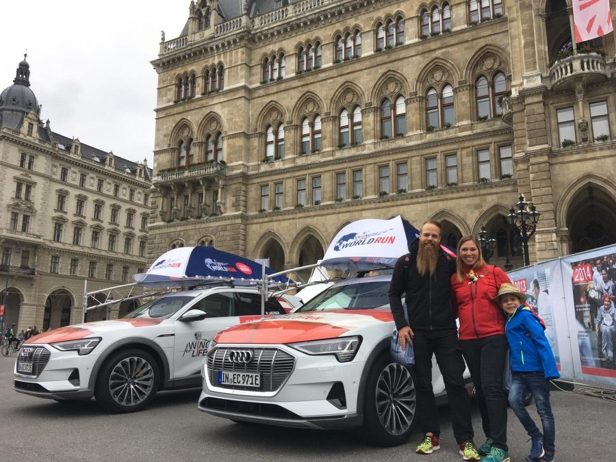Horst radlt in Mörbisch und rennt durch Wien