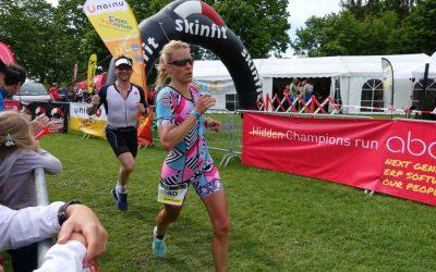 Ivetts erster Triathlon der Saison