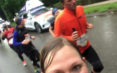 Jacky beim Wings for Life Run