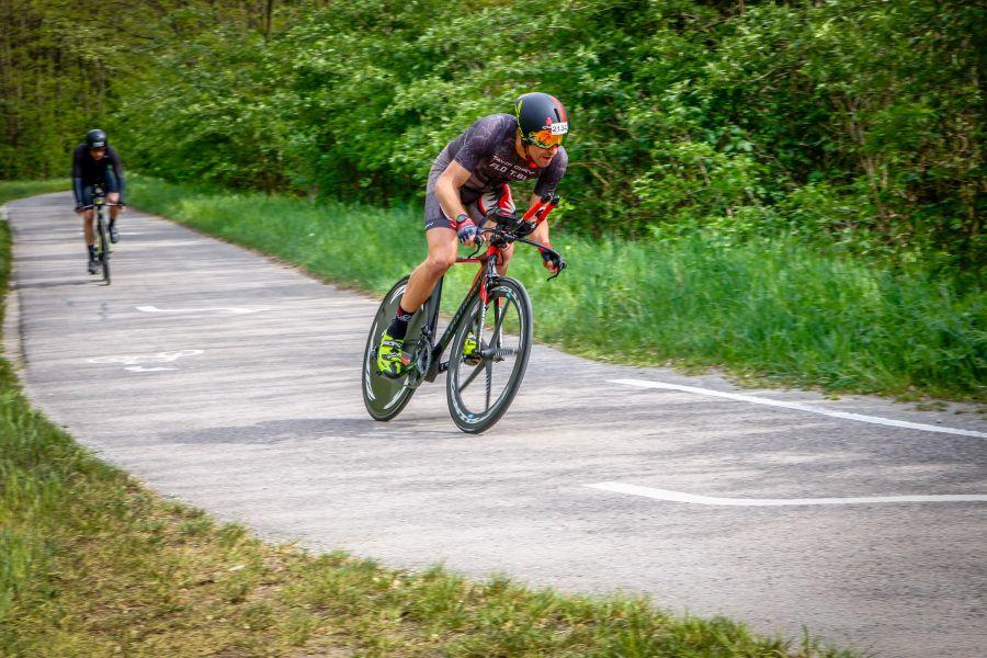 Flos erstes Rad(Zeitfahr)Rennen
