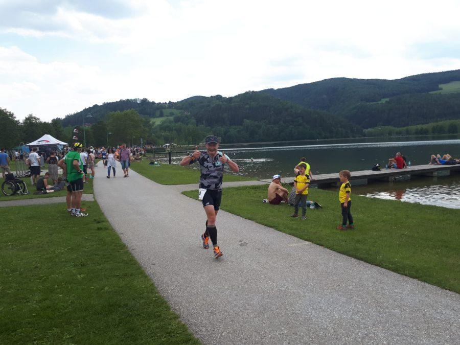 Martin beim Apfelland Triathlon