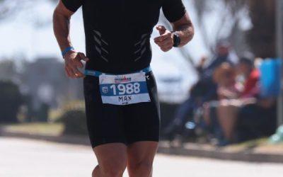 Max beim Ironman South Africa