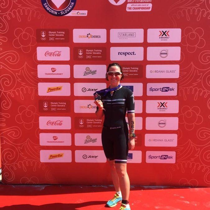 Sandras Weg zum Triathlon Debüt in Samorin