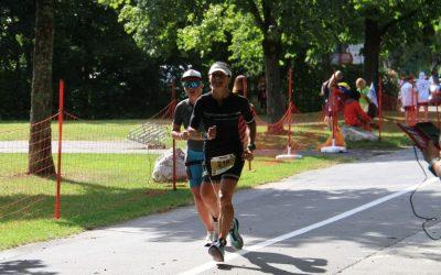 Renate beim Ironman Austria
